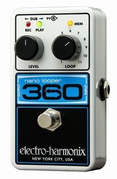 Buy Electro Harmonix 360 Nano Looper online from GAK.co.uk. Unbeatable prices and next day delivery from the UK's no1 instrument store. Order Today.