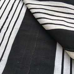 A personal favorite from my Etsy shop https://www.etsy.com/listing/273287714/african-fabric-vintage-black-white-aso