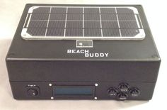 Picture of Beach Buddy: Solar Phone Charger, Boombox, and Sunburn Timer Calculator Solar Phone Chargers, Do It Yourself Projects, Diy Electronics, Boombox, Beach Trip, Arduino, Diy Projects, Calculator, Day