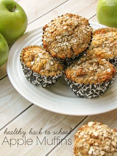 Healthy Apple Muffin