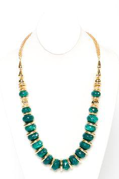 emerald estate necklace