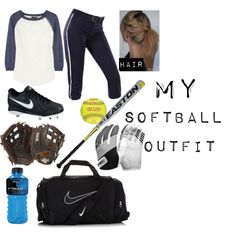"""""""My Softball Outfit"""" by jasmineyanez on Polyvore"""
