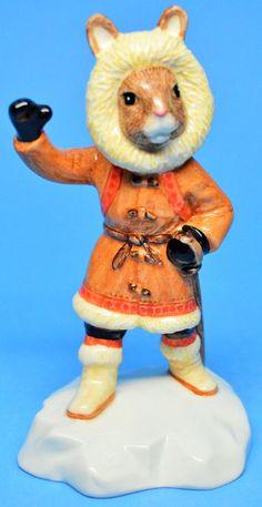 "Royal Doulton ""Eskimo Bunnykins"" Figurine DB275 Figure of the Year 2003"