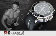 Rolex Deepsea and Rubber B. The Ultimate Diving Experience. 100% Swiss Made by Leaders in the Luxury Watch Industry