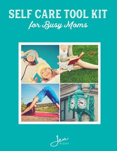 For all the busy moms! Grab a free copy of this awesome self care toolkit! You'll love it!