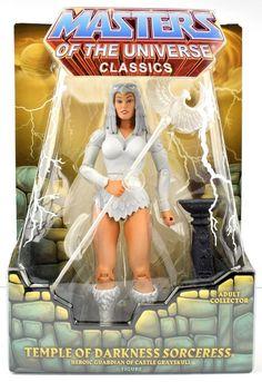 Masters of the Universe Classics TEMPLE OF DARKNESS SORCERESS ZOAR Figure MOTUC #Mattel