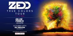 Zedd w/ Dillon Francis and Alex Metric in Chicago at UIC Pavilion