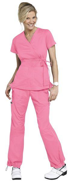 I cannot find bubblegum pink scrubs anywhere! Cute Nursing Scrubs, Cute Scrubs, Koi Scrubs, Healthcare Uniforms, Medical Uniforms, Work Uniforms, Scrub Shoes, Scrubs Pattern, Spa Uniform