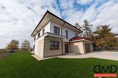 Projekt domu Kasjopea - 153,80 m2 - koszt budowy 197 tys. zł Home Fashion, Mansions, House Styles, Home Decor, Decoration Home, Manor Houses, Room Decor, Villas, Mansion