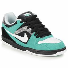 Low top trainers Nike 6.0 NIKE ZOOM ONCORE Black   TURQUOISE b9f2a90074