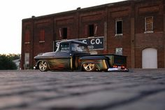 Our 1955 bagged Chevy truck