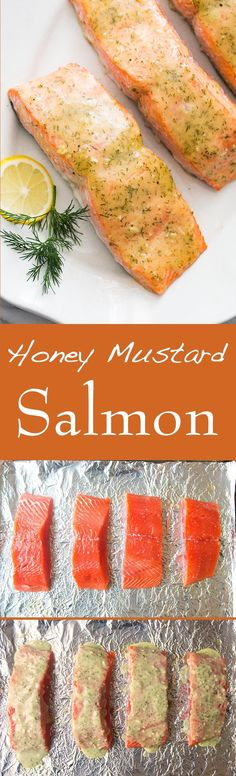 Honey Mustard Baked Salmon - Quick. Easy. Healthy. | SimplyRecipes.com