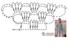 Crochet Shawl - Chart @Af's 21/3/13