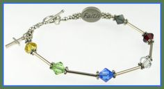 """Salvation Bracelet!  If you know me,  you know I love this!  As posted on her website...  """"The colors symbolize the following:  Black - sin  Red - blood of Christ  White - forgiveness of sin  Blue - baptism  Green - growth in the Word  Gold - heaven"""""""