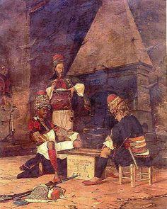 Ressam arkeoloð Osman Hamdi bey-tavla-oynayan-zeybek.jpg