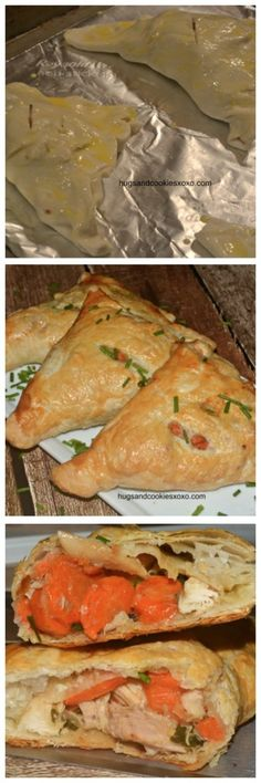 Chicken Pot Pie Turnovers - Hugs and Cookies XOXO