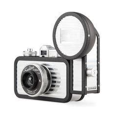 Lomography La Sardina Camera and Flash Splendour 35mm Film 89 Wide Angle Lens