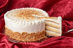 Interkontinental torta u tri sloja Torte Recepti, Kolaci I Torte, Dessert Cake Recipes, Just Desserts, Baking Recipes, Cookie Recipes, Rodjendanske Torte, Torta Recipe, Christmas Desserts