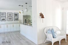 The House of Silver Lining: Beach Cottage Renovation Reveal:  Dining Room