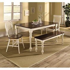 Sandra Lee Farmhouse Table from Kmart only $142.49 Exactly what I would want for outside spin_prod_731322812