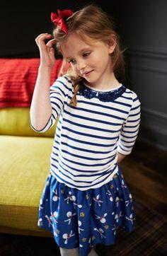 Mini Boden Tee & Skirt (Little Girls & Big Girls)  available at #Nordstrom