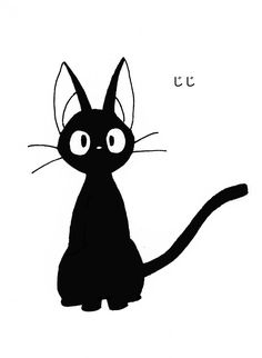 this is the cat from KiKi's delivery Service and it is soooo cute hope you like