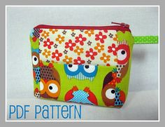 NEW - Sweet Kiss Wallet / Coin Purse PDF Pattern - Beginner Project on Etsy, $7.07 CAD