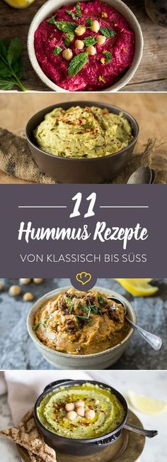 We love hummus. And creative hummus recipes much more. Hearty or sweet: You will be amazed at what you can do with chickpeas! We love hummus. And creative hummus recipes much more. Hearty or sweet: You will be amazed at what you can do with chickpeas! Veggie Recipes, Salad Recipes, Vegetarian Recipes, Cooking Recipes, Healthy Recipes, Seafood Recipes, Drink Recipes, Vegan Snacks, Healthy Snacks