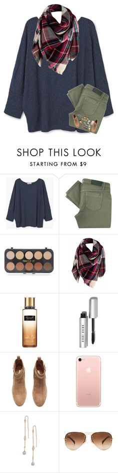 """""""Life Update RTD """" by kat-attack ❤ liked on Polyvore featuring MANGO, Victoria Beckham, Forever 21, Bobbi Brown Cosmetics, H&M, Kendra Scott and Ray-Ban"""