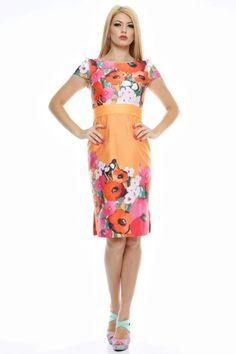 Rochie conica imprimata cu teturi in talie. Two Piece Skirt Set, Summer Dresses, Skirts, Stuff To Buy, Fashion, Summer Sundresses, Moda, Sundresses, Fashion Styles