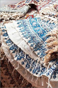 IRAN. Qalamkar is a traditional persian (iranian) handicraft.