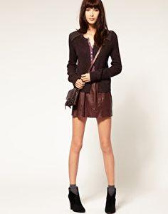 leather skirt - vanessa bruno athe
