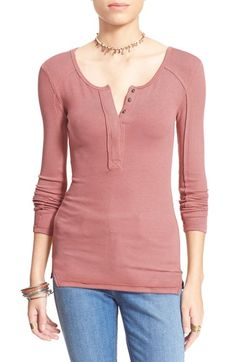 Free People 'Megs' Rib Top available at #Nordstrom