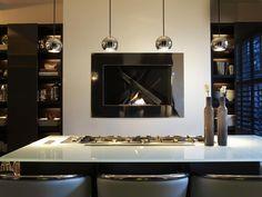 Modern kitchen design ideas at a London townhouse #kitchenideas #luxuryhomes #interiordesign modern design, kitchen design ideas, ambient lighting. See more at www.luxxu.net