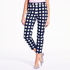 kate spade | Checkered Davis Capri