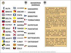 código de banderas marinas -