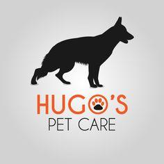Imagotipo  Cliente: Hugos Pet Care Soft: Illustrator