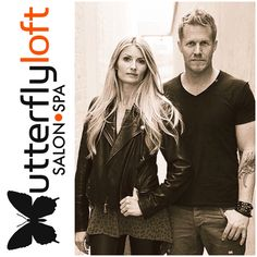 David and Alexis Thurston, owners of Butterfly Loft salon.