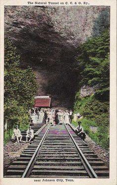 Natural Tunnel near Johnson City, TN