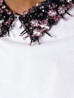 Marni Embellished Collar Blouse - Di Pierro - Farfetch.com