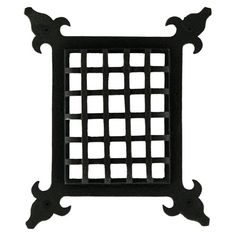 Small Speakeasy Door Grille with Viewing Door - Door Grilles and Viewers - Hardware iron security Exterior Doors, Interior And Exterior, Speakeasy Door, Strap Hinges, Dream Furniture, Home Hardware, Play Houses, Accent Decor, Cast Iron