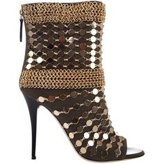 GIUSEPPE ZANOTTI Just when I thought a shoe couldn't get any fancier....bam!
