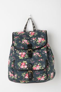 Cute backpack, large enough to hold a laptop and supplies.