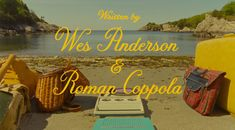 Movie Titles for Moonrise Kingdom by Jessica Hische