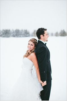 Please let it snow on our wedding day!