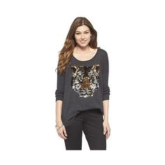 Cliche Sequin Tiger Sweater and other apparel, accessories and trends. Browse and shop related looks.