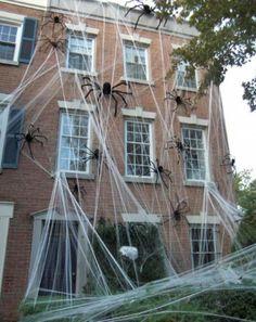 Décoration Halloween pour l\u0027entrée , 19 idées créatives