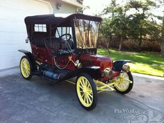 1911 Stanley Steamer 63 Demi Tonneau