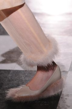 Our favourite shoe spot of the day seen at @Simone_Rocha_ . Pray...