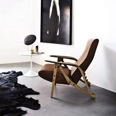 Poltrona Gilda - design Carlo Molino- Zanotta